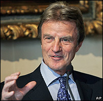 New French Foreign Minister Bernard Kouchner