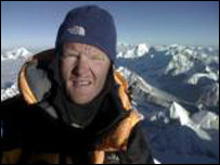 Rod Baber on summit, Motorola