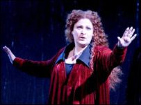 Sally Silver as Lucia [Pic: Mark Hamilton]