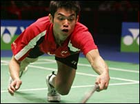World men's singles No 1 - China's Lin Dan