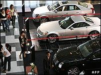 Car showroom in Shanghai
