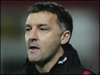 Darlington boss Dave Penney
