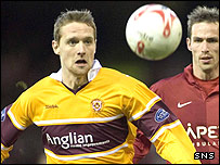 Kevin McBride spent three seasons with Motherwell