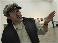 Rashad Selim at the exhibition