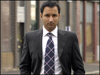 Athif Sarwar was given a three year sentence