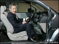 Takeo Fukui, president and chief executive of Honda Motor Co