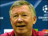 Man Utd manger Alex Ferguson