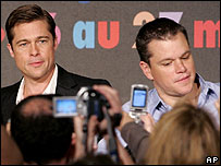 Brad Pitt and Matt Damon
