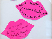 Visitors' comments in support of Pallant House (picture by Andy Paradise)