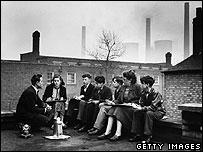 School in Birmingham, 1954