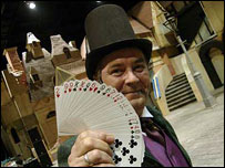 Card shark at Dickens World
