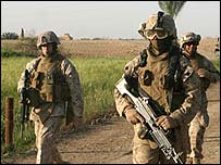 US Marines in Iraq, 16 April 2007