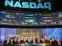 Company marks its debut on the Nasdaq exchange