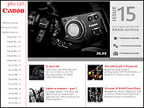 Cannon magazine website
