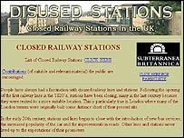 Disused Stations.org.uk website