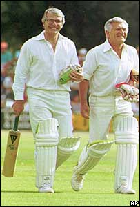 John Major in 1991 in Australia with Bob Hawke