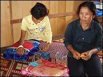 Hospital in Preah Vihear province, Cambodia