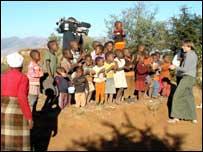 Kate in Lesotho