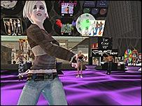 Una discoteca en Second Life