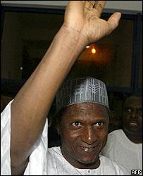 Nigeria's President-elect Umaru Yar'Adua