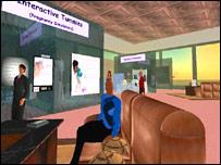 Edmundo toma un descanso en Second Life