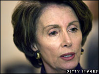 House Democratic Speaker Nancy Pelosi