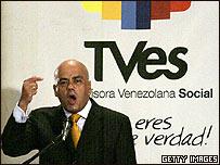 Jorge Rodríguez, vicepresidente de Venezuela