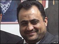 Wafsi Kabba, ministro detenido
