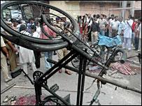 Assam bomb scene - 26/5/07