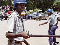 Zimbabwean police (March 2007)