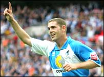 Bristol Rovers striker Richard Walker