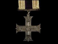 Siegfried Sassoon's Military Cross medal