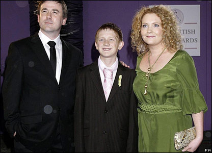 Graeme Hawley (left), Sam Ashton and Jennie McAlpine
