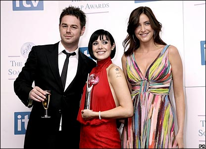 Kym Ryder with Danny Dyer and Lisa Snowdon