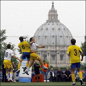 Vatikan, Vatican, Footbal, Futbol