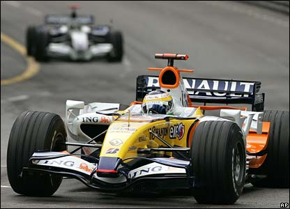 Renault's Giancarlo Fisichella