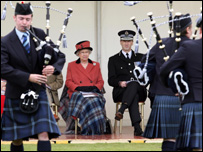The Queen at Balmoral