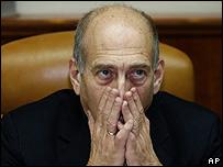 Primer ministro israelí, Ehud Olmert.