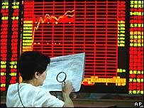 Chinese stock investor