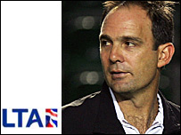 LTA men's head coach Paul Annacone