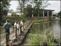 Vista del museo creacionista