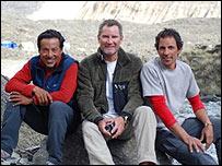 Iv�n Vallejo, Andrew y Fernando