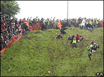 Cheese-rolling event