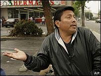 Juan Carlos V�zquez, en Los Angeles cree que su situaci�n va a empeorar
