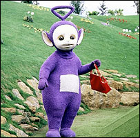 Tinky Winky in The Teletubbies
