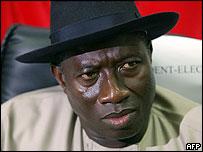Vice-President-elect Goodluck Jonathan