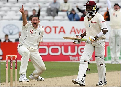 Denesh Ramdin is dismissed