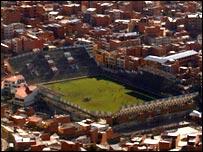 Estadio Sim�n Bolivar de La Paz