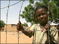 Darfur refugee (file picture)