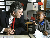 Gordon Brown launches the Every Child a Reader initiative
